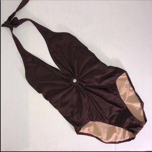 Newport News Halter Top Bathing Suit